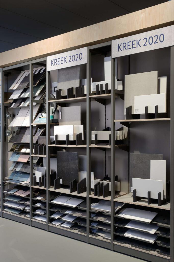 Visual merchandising + styling Homestudios tegelaanbod