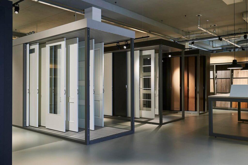Concept design Homestudios Creatiestudio Binnendeuren exhibit