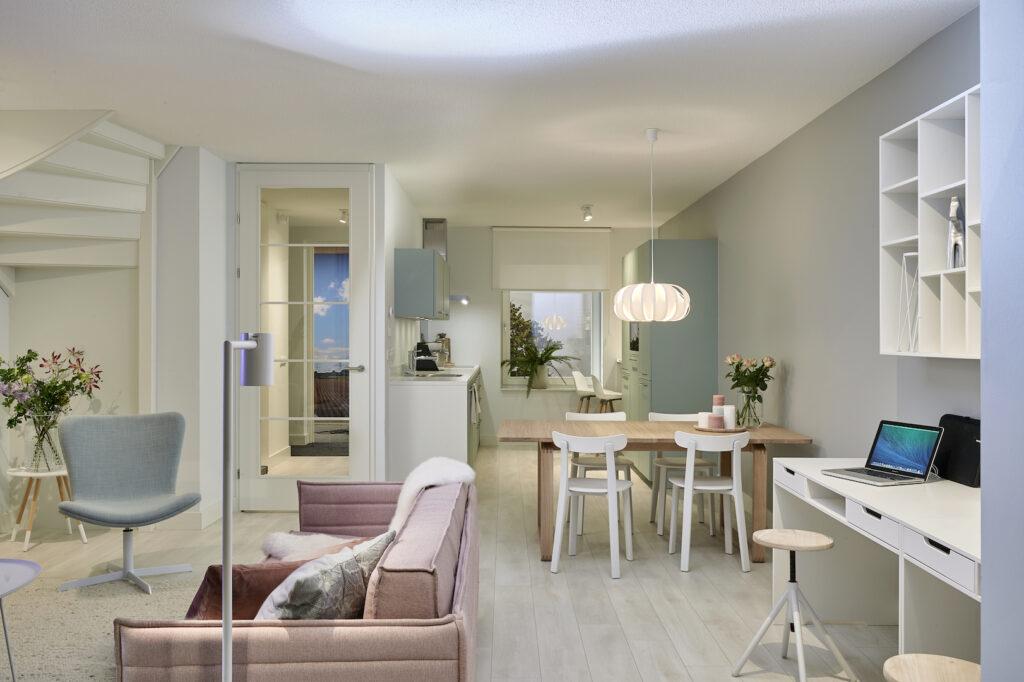 Indeling LoungeWoonstijl Scandinavisch&Licht