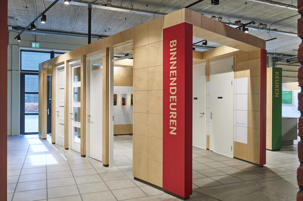 Exhibition design Homestduios Kennisstudio binnendeuren