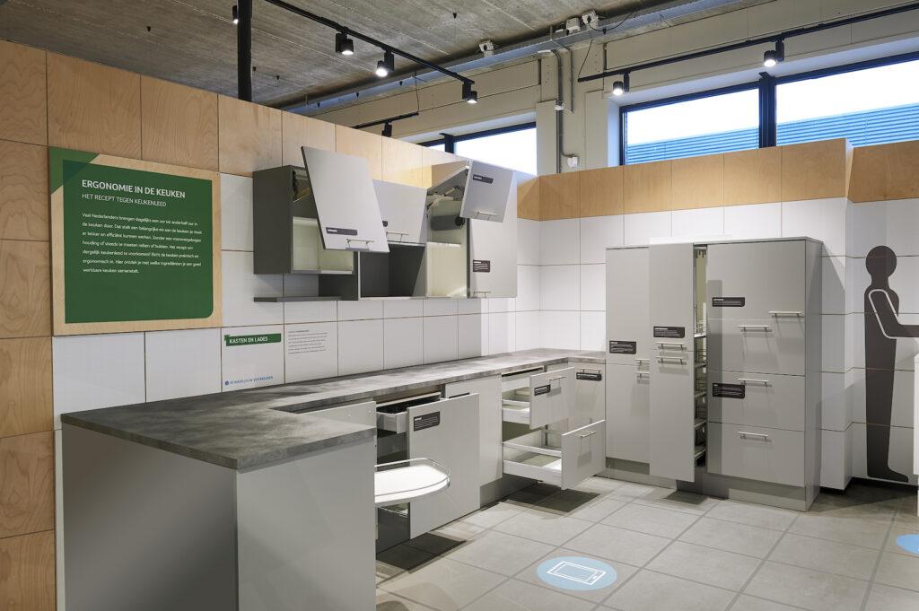 Exhibition design Homestudios Kennisstudio keuken