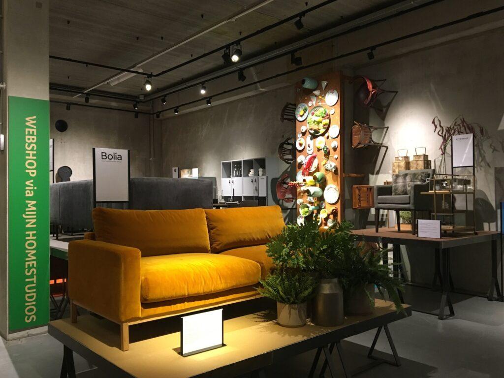 """Exhibit design+ styling Homestudios """"Meubellandschap"""""""