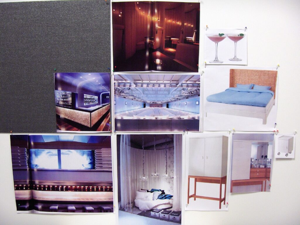"Interior design moodboard d.project IKEA ""Galaxy lounge"""