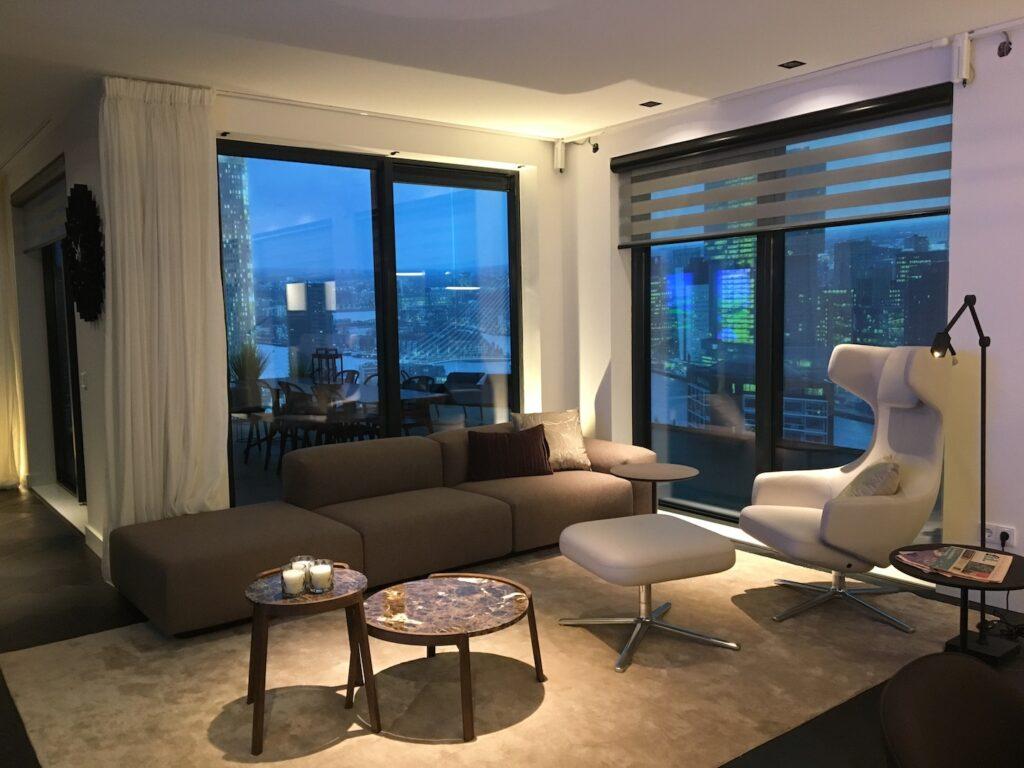 Interior design penthouse 160 m2 Homestudios