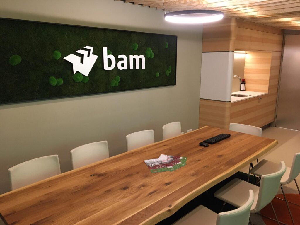 Branded interior design BAM Skybox Johan Cruyff Arena