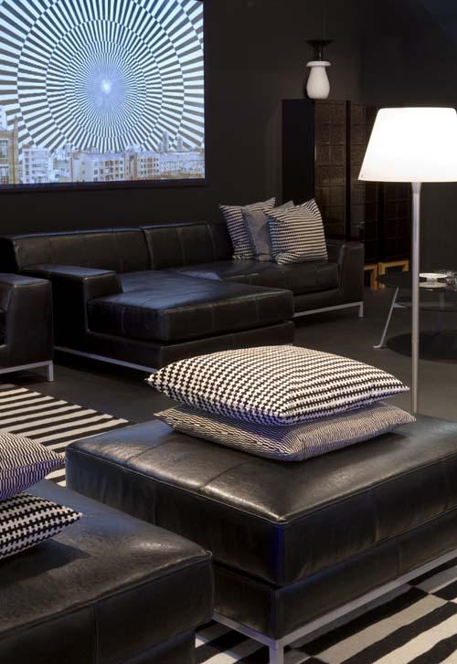 Exhibition design d.project IKEA focus op woonkamer