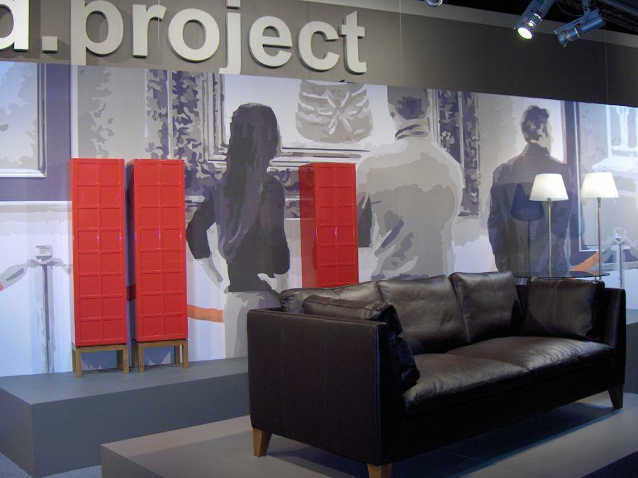 Exhibition design d.project IKEA under cover op woonbeurs