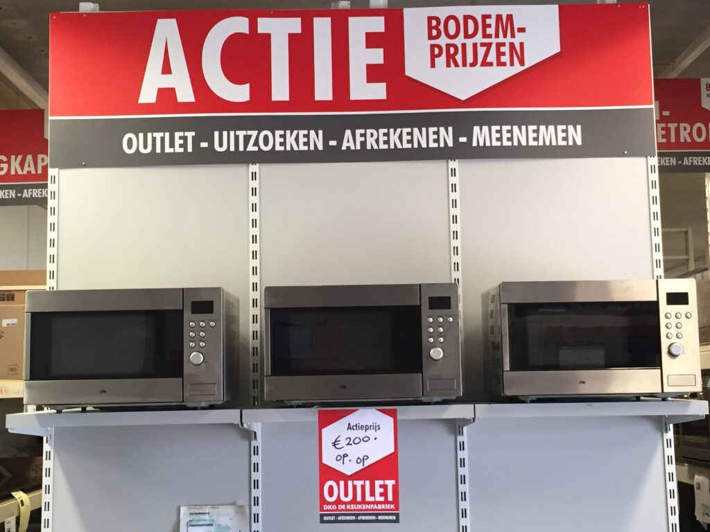 Actiewand signing outlet DKG