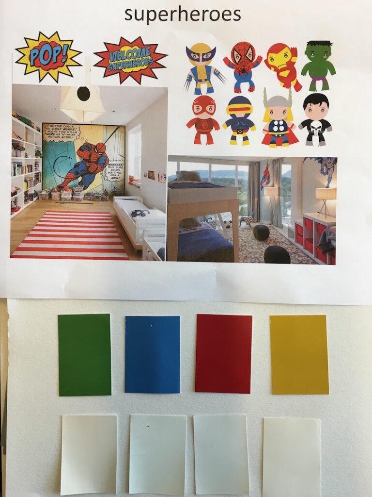 V+W concept nieuwe muurkleuren voor kids en teens