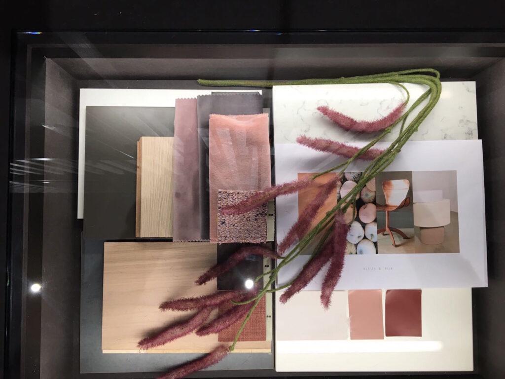 Homestudios Materialencollage woning 4 Kleur+Rijk